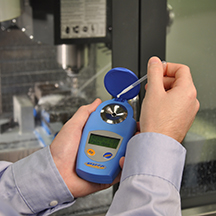 Palm Abbe™ Digital Refractometer MISCO  application photo